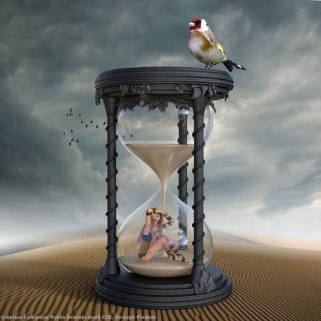 Sand is flowing in the Internet hourglass. Your time